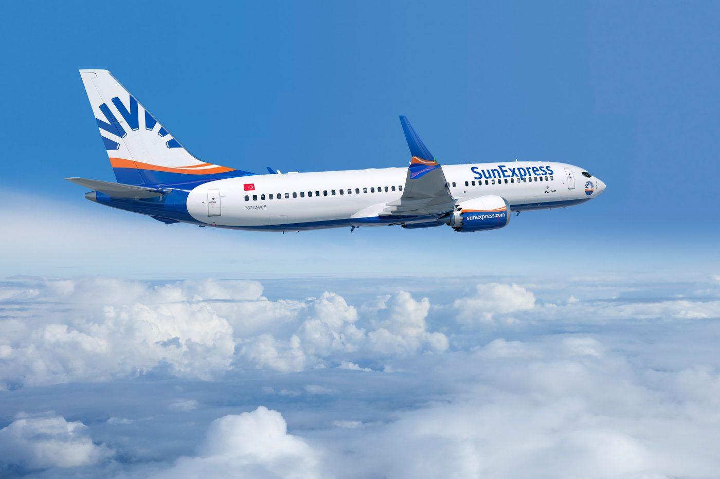 Boeing 737 MAX 8 van het Turkse SunExpress (Bron: SunExpress)