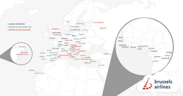 Brussels Airlines & Austrian kondigen dienstregeling voor de zomer aan