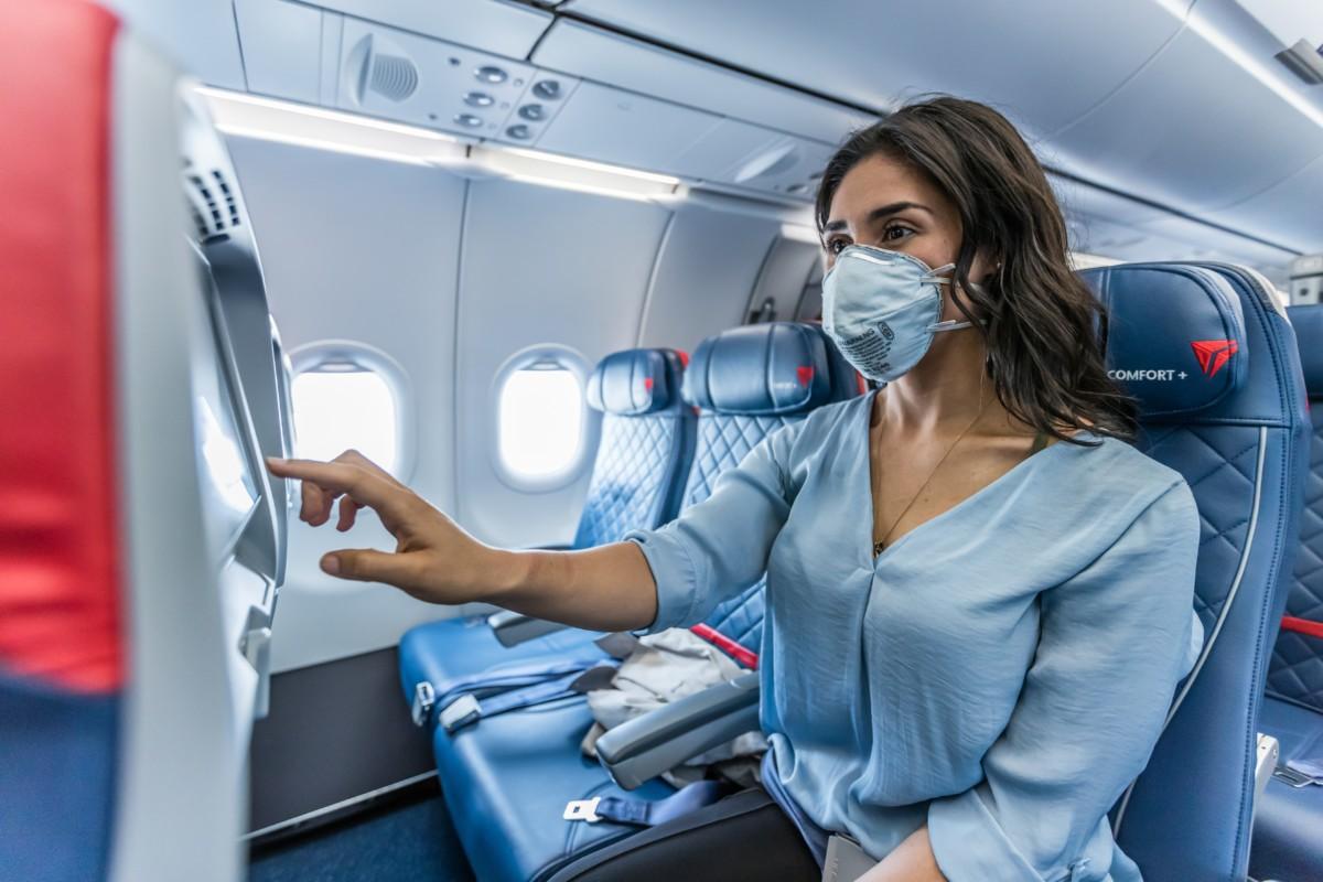 Delta Comfort+ cabine (Bron: Delta)