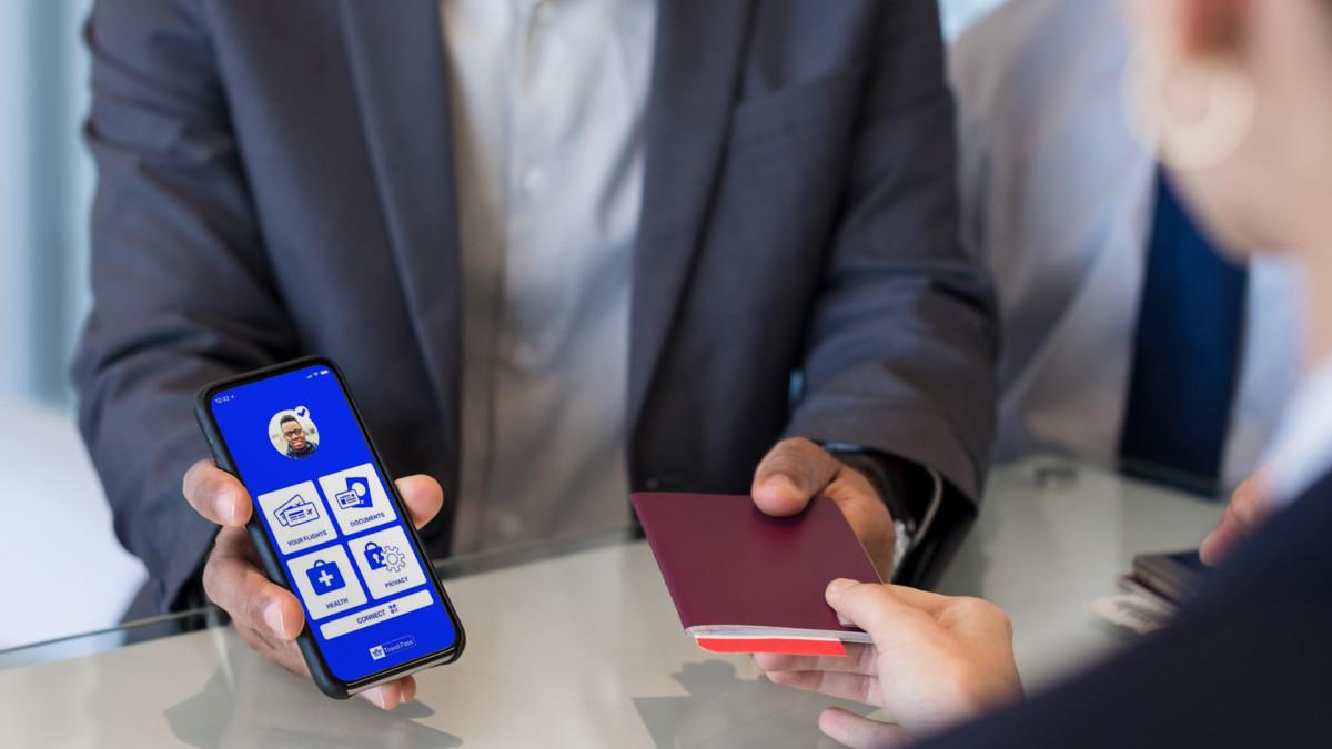 De IATA Travel Pass is een van de initiatieven die digitaal gezondheidsdata opslaan (Bron: IATA)
