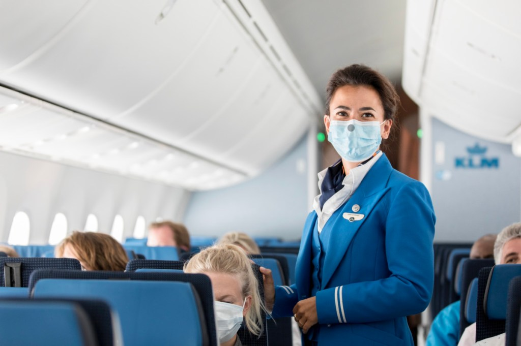 Campagne KLM vertrouwd op reis 2021 (Bron: KLM)