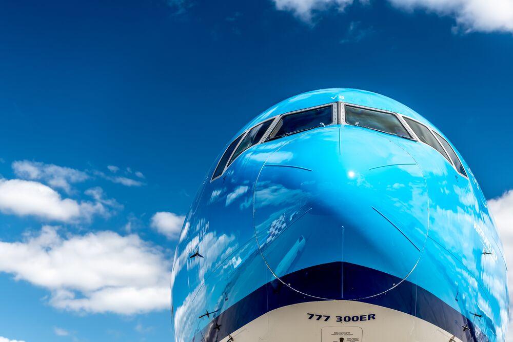 Neus van de Boeing 777-300 van KLM (Bron: KLM)