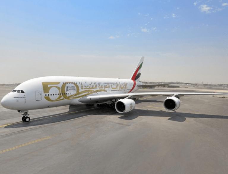 Emirates, 50-jarig bestaan, VAE