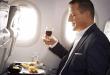 Lufthansa, business class, maaltijden