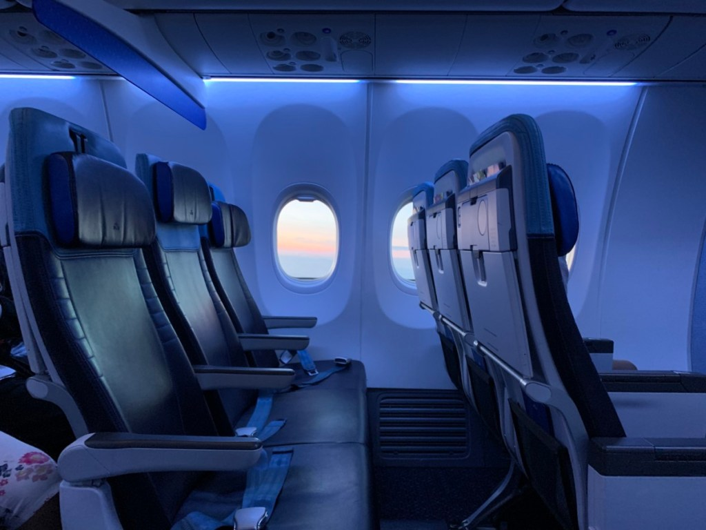Review: KLM Business Class Athene - Amsterdam   Nieuw Cabine Boeing 737