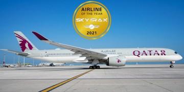 Qatar Airways is in 2021 opnieuw gekozen tot beste airline ter wereld (Bron: Skytrax)