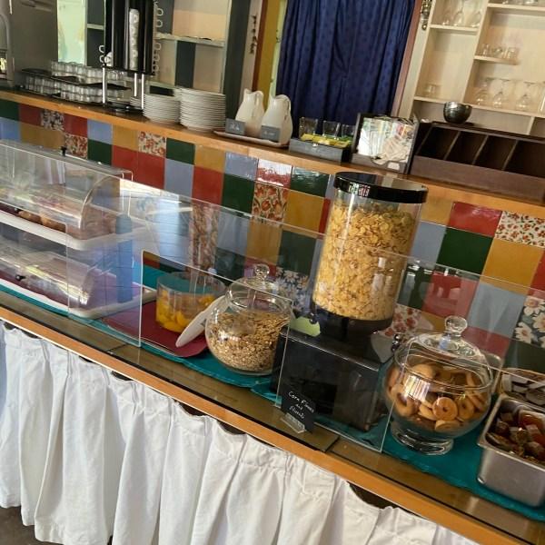 Ontbijt Kokkari Hotel