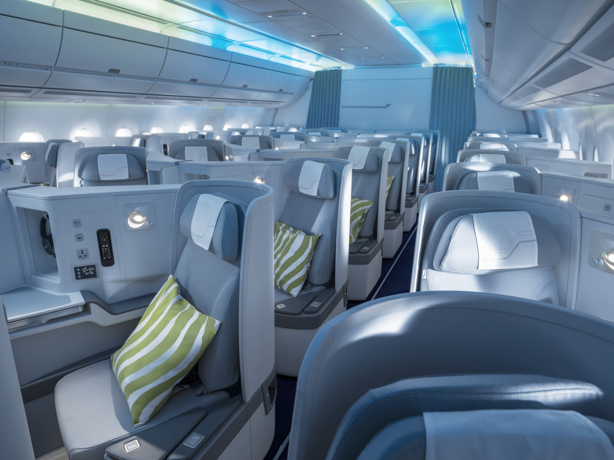 Finnair Airbus A350 Business Class