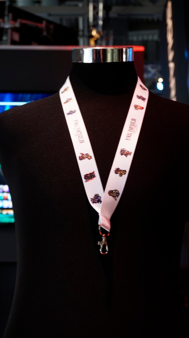 Gamescom 2016 Final Fantasy Lanyard H9