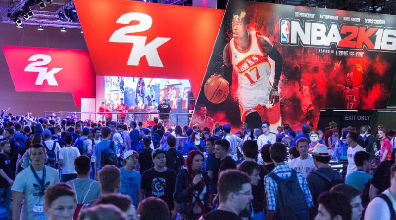 2k Games Stand Gamescom 2015, Foto: Kölnmesse