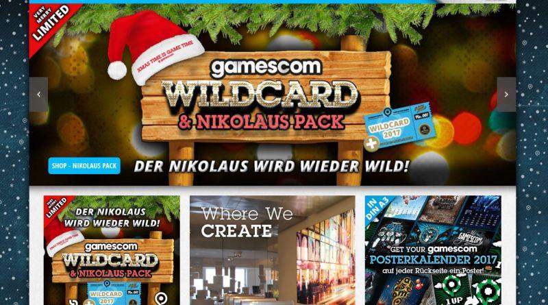 gamescomwear Nikolaus Pack 2017