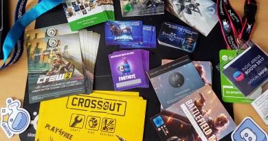 gamescom 2017 digital Goodie Giveaway