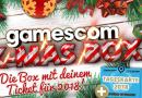 Die Gamescomwear Weihnachtsboxen mit Tickets sind erhältlich