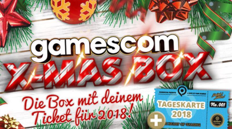 Gamescomwear.com X-MAS Box Banner