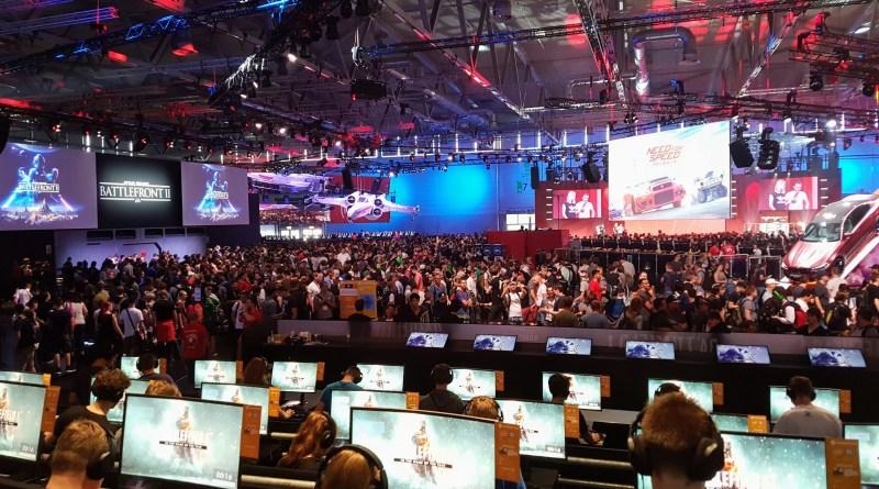 EA Stand auf der gamescom 2017