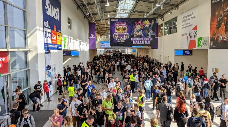 Messe-Gang zur gamescom 2019