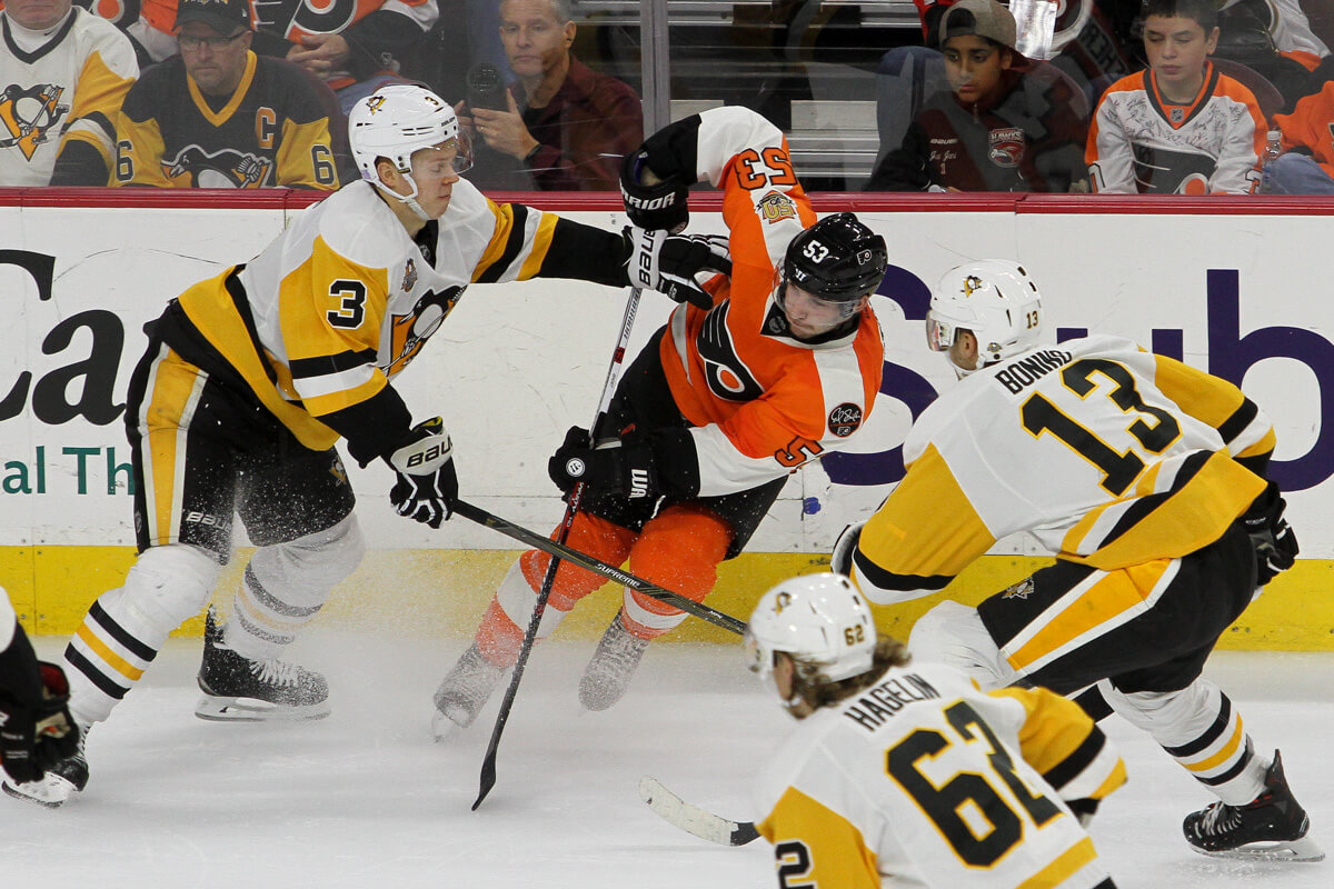 Image result for penguins vs flyers
