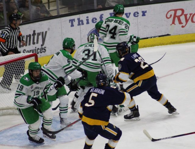 North Dakota Runs Over Canisius, 8-1