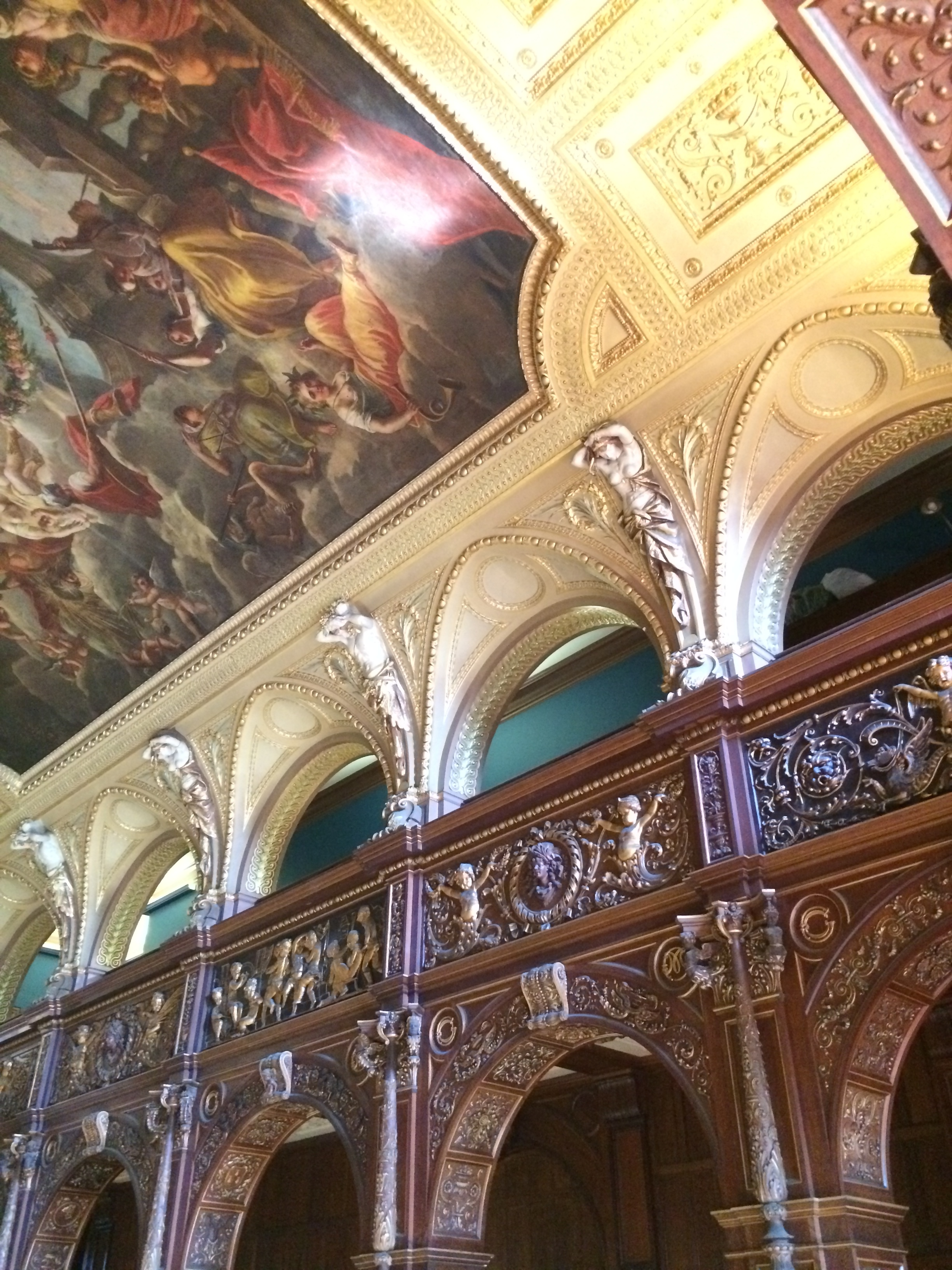 Ochre Court Dinning Room