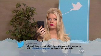 Celebrities read mean Tweets on Jimmy Kimmel Live