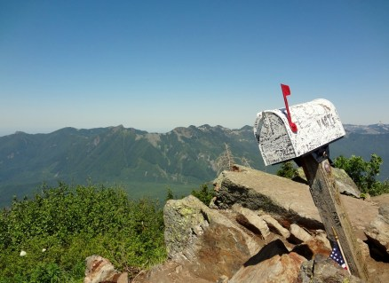 Maibox at Mailbox Peak