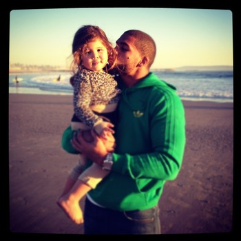 Arian-Foster-and-Daughter
