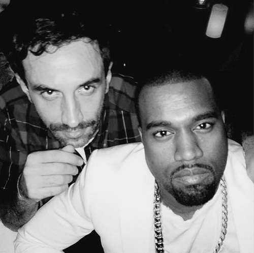 la-modella-mafia-street-style-2013-menswear-chic-Kanye-West-and-Riccardo-Tisci-of-Givenchy