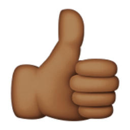 deeper-brown-thumbs-up-sign