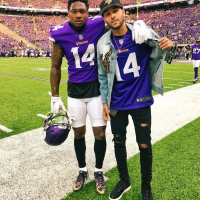 Stefon Diggs Gets The Game Winning Foxhole Entry