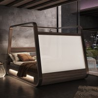 the ultimate bed for a lot of chillin' and netflix