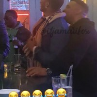 barry bartlett caught creepin' on his ex, michael privius, with his new boo?