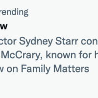eddie winslow is trending for another hyped lie by sidney starr?
