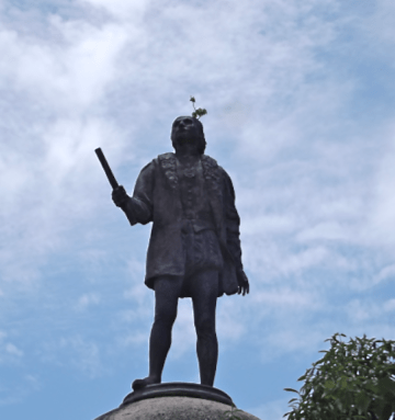 La Santa Maria, Christopher Columbus Statue, Jamaica