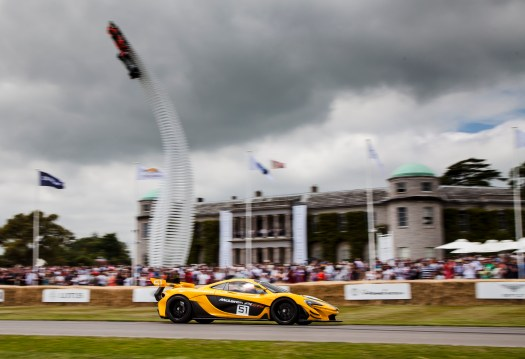 McLaren P1 GTR at Goodwood Festival of Speed