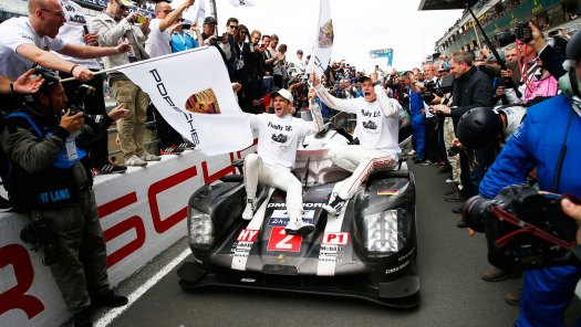 Porsche 919 Overall Win at 24 hours of Le Mans