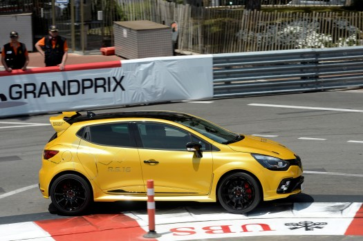 Renault Sport Clio RS16 on Track at Monaco