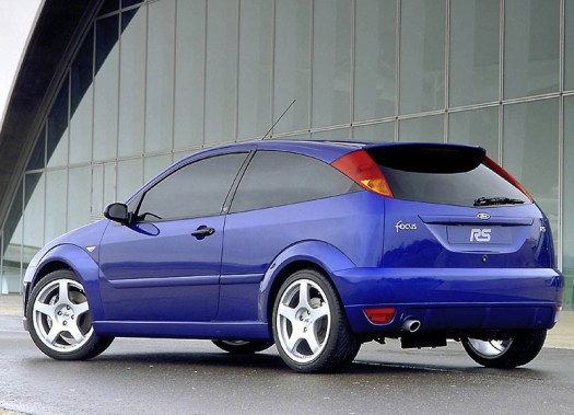 Ford Focus RS Rear OZ Wheels