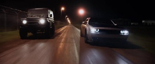 Fast and Furious 8 Dodge Challenger