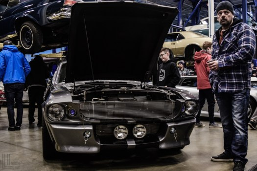 Shelby GT500 Eleanor Mustang at EA Cars and Coffee Toronto May 27