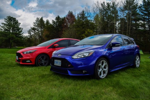 Ford Focus Ontario - 2014 vs. 2016 Ford Focus ST Facelift