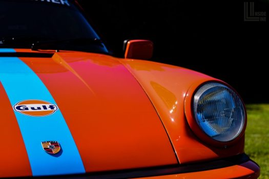 Porsche 934 Tribute w/ Gulf Oils Racing Livery