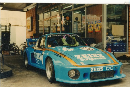 Porsche 935 Zeiss Racing in the Asian Championships - one of the many cars Jay worked on in Asia.
