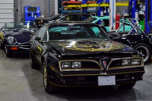 "Pontiac Trans-Am Firebird, just like ""Smokey and the Bandit"" at Engineered Automotive."