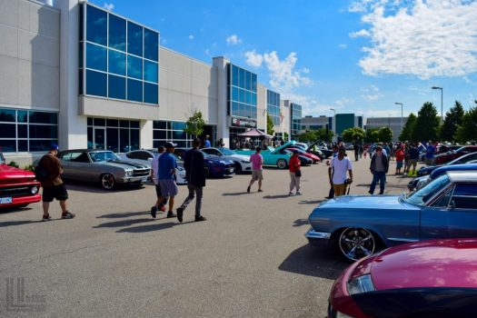 Cars and Coffee at Engineered Automotive in Toronto