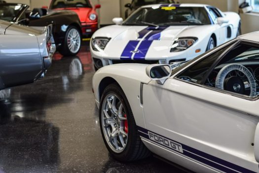 Ford GT Supercar and Shelby GT500E Classic Muscle Car for sale at Engineered Automotive in Toronto