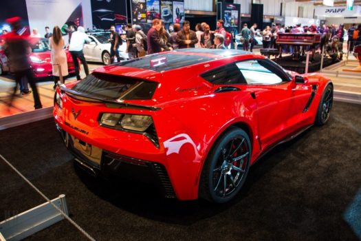 Callaway Corvette Aerowagen at the 2018 Canadian International Auto Show in Toronto