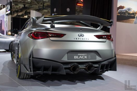 Toronto Auto Show 2018 - Infiniti Project Black S Concept - based on the Q60 Coupe.