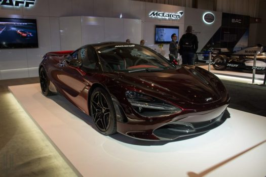 McLaren 720S Velocity MSO at the 2018 Canadian International Auto Show in Toronto