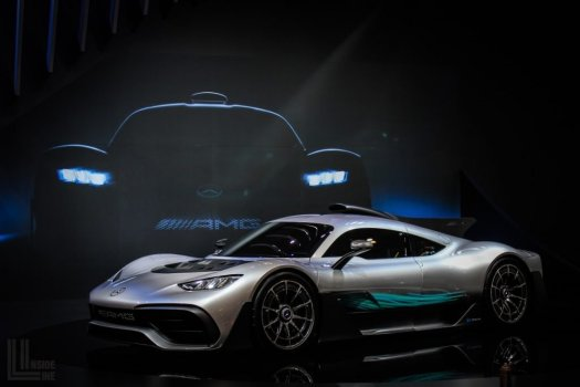 Toronto Auto Show CIAS 2018 - The Mercedes-AMG Project One Concept looks to bring Formula One racing technology to the streets.