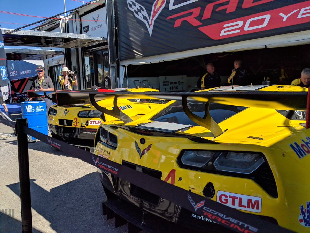 Corvette Racing C7.R at Laguna Seca for the Continental Tire Monterey Grand Prix.